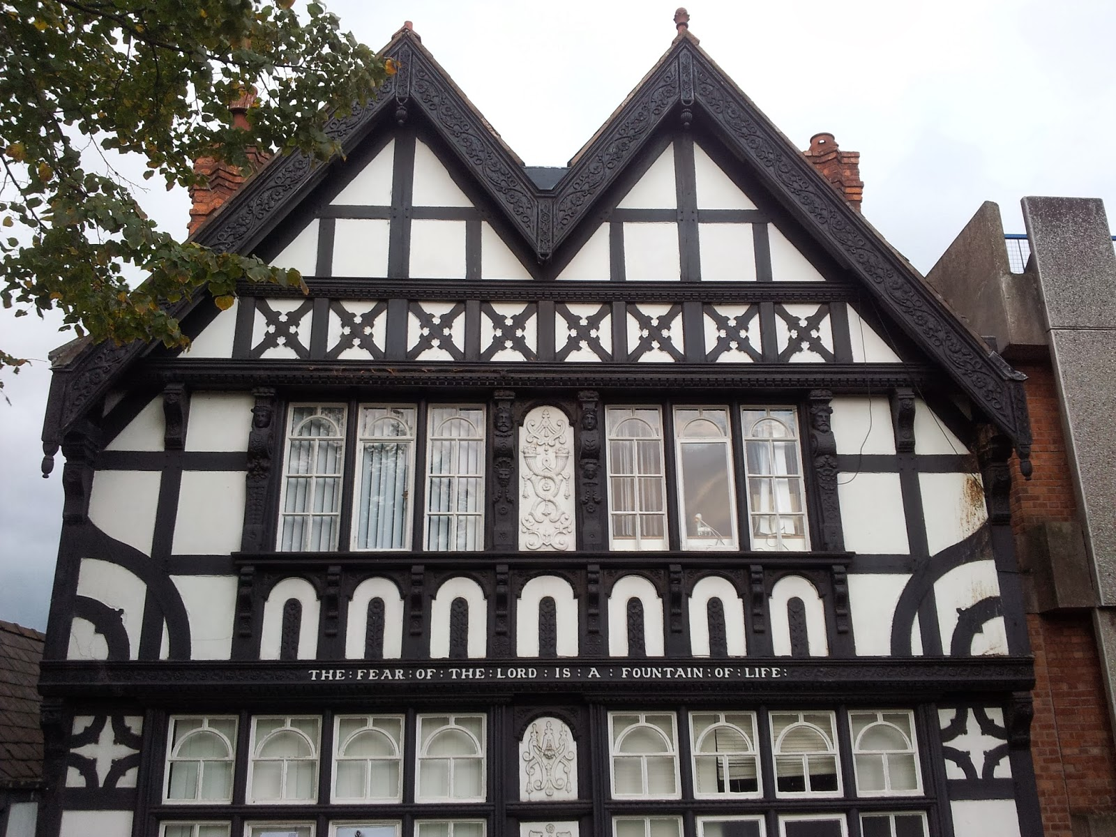 Tudor house in Chester, England
