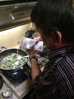 Cream of Spinach by Tommy Osmeña, Mayor Tomas  Osmeña, Cream of Spinach, Vegetarian Recipe, kangkong, agbati, recipe