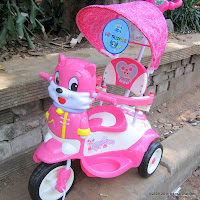 Sepeda Roda Tiga GoldBaby F6-1 Vivan in Pink
