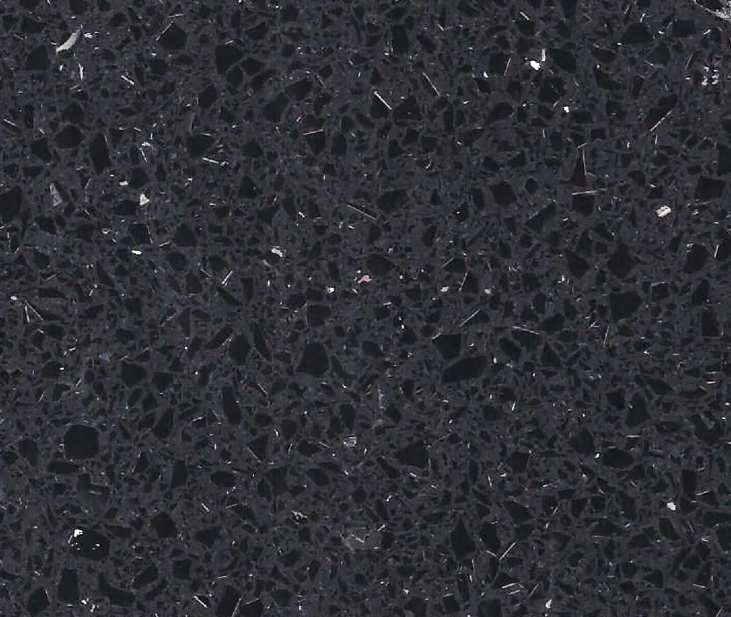 Technistone Starlight Black Quartz   Technistone Starlight White Quartz   HALF  PRICE