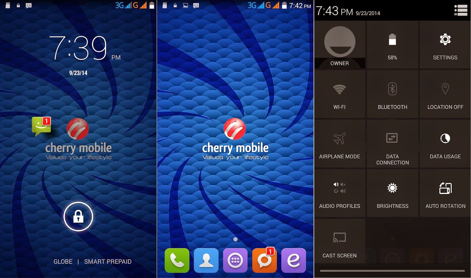 Cherry Mobile Cosmos One Review: Orderly System