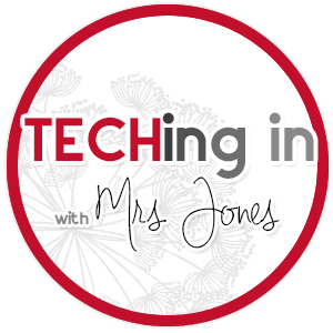 TECHing In With Mrs. Jones