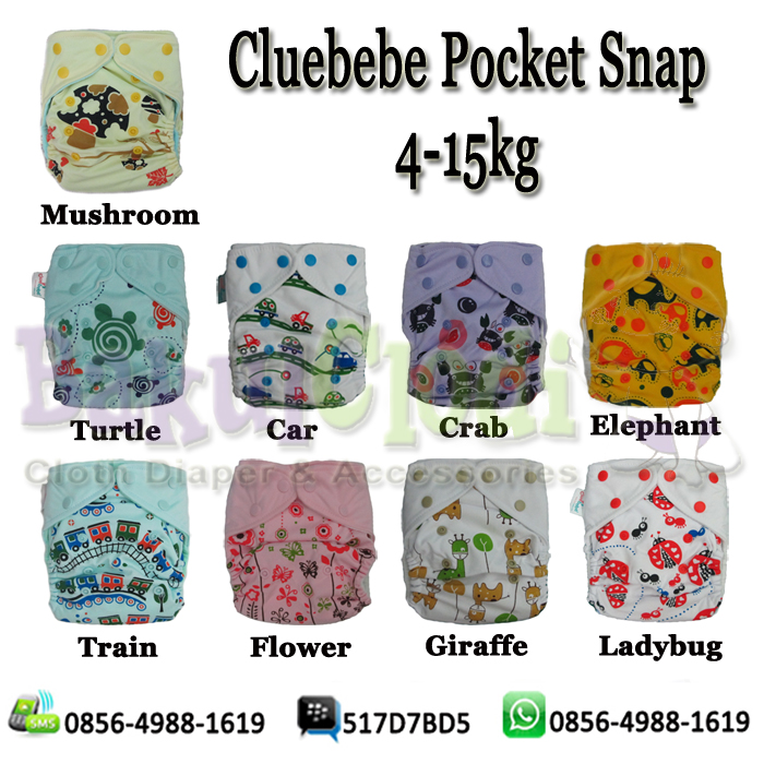 Clodi Cluebebe Pocket Snap
