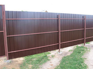 Забор из профлиста. Фото 22