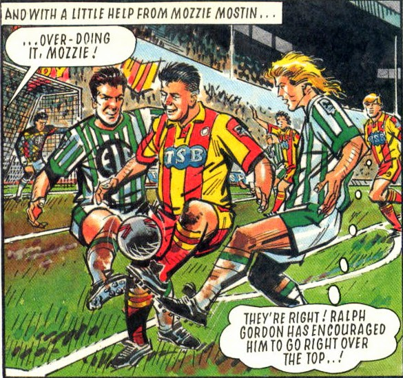 Melchester Rovers vs Burndean 1992/93