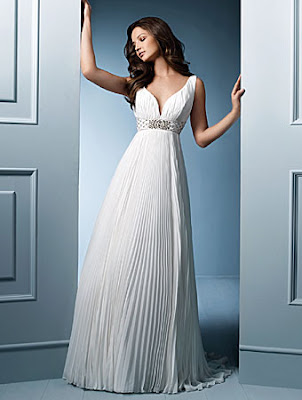 grecian wedding dresses   Behind the Mute Button