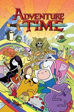 Adventure Time, Vol 1 by Ryan North, illustrated by Braden Lamb and Shelli Paroline