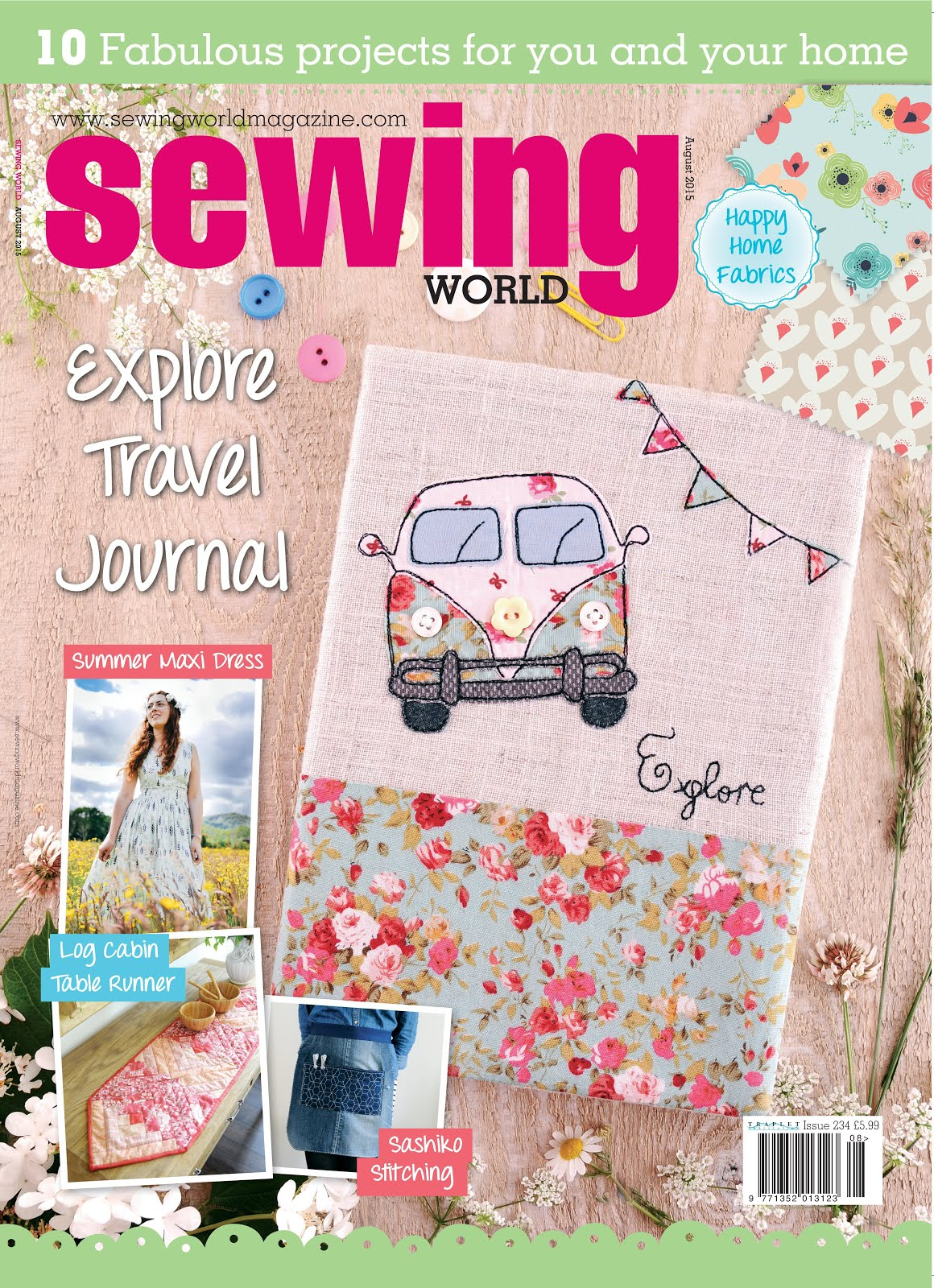 Sewing World August 2015