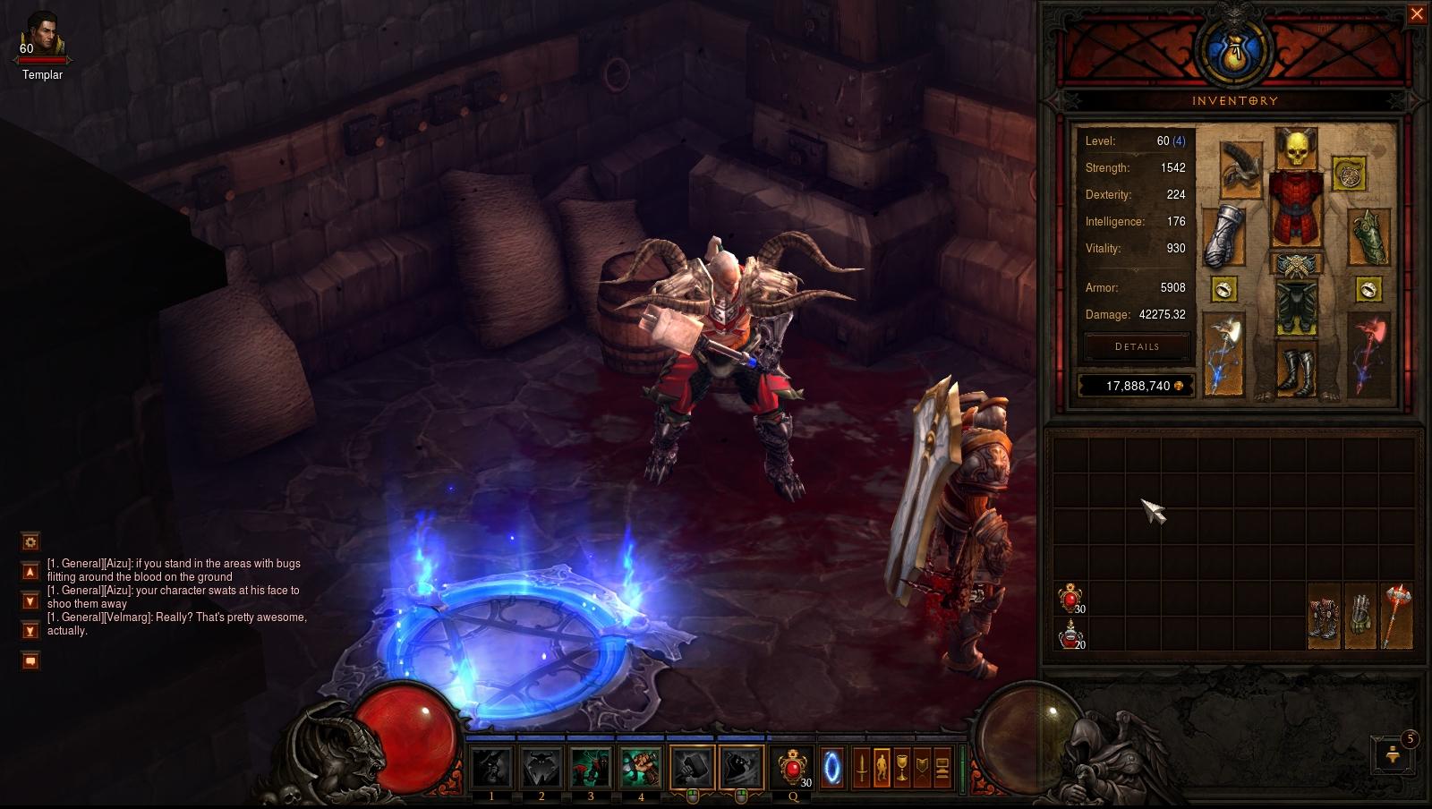 Diablo  Barbarian Thorns Build