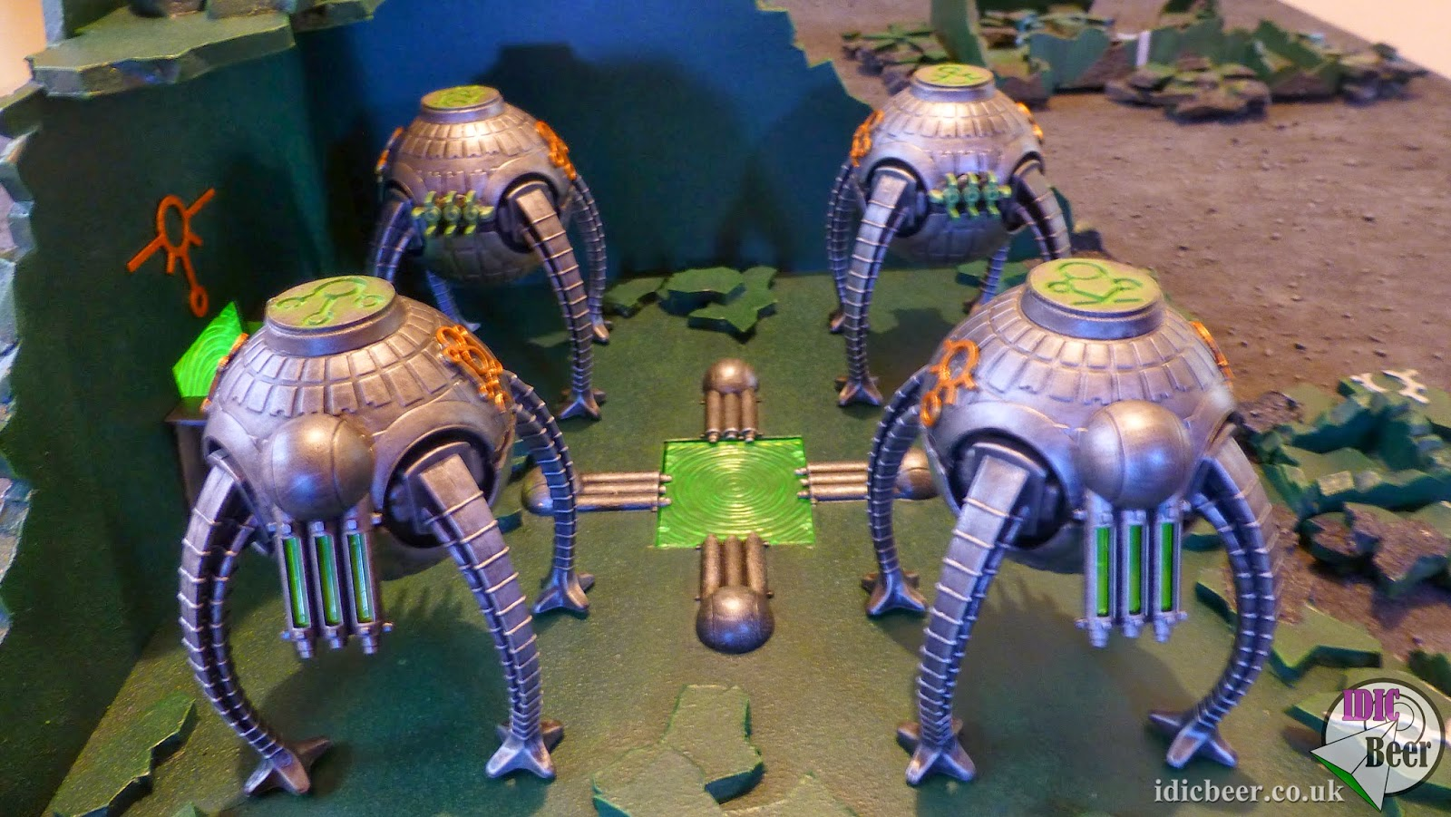 IDICBeer 40k: How to make a Necron Power Station