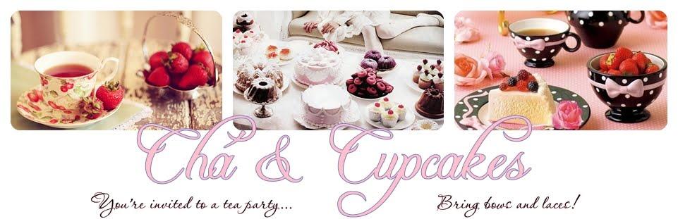 Chá e Cupcakes
