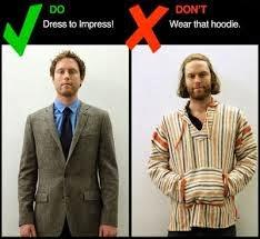 pakaian untuk wawancara kerja