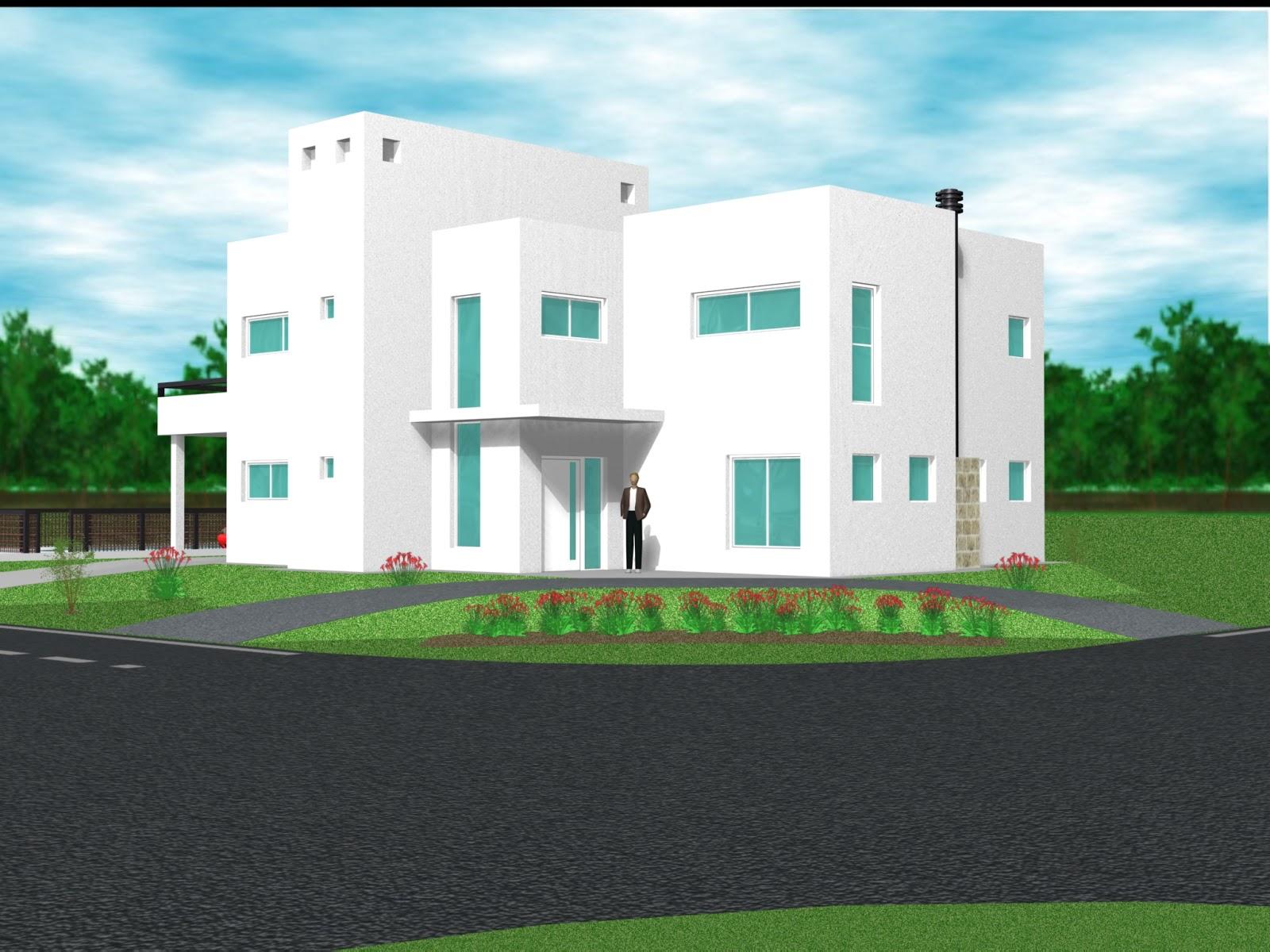 Campo daromy barrio privado proyecto de esquina 180m2 for Casas minimalistas 180m2