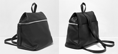 KARA black backpack