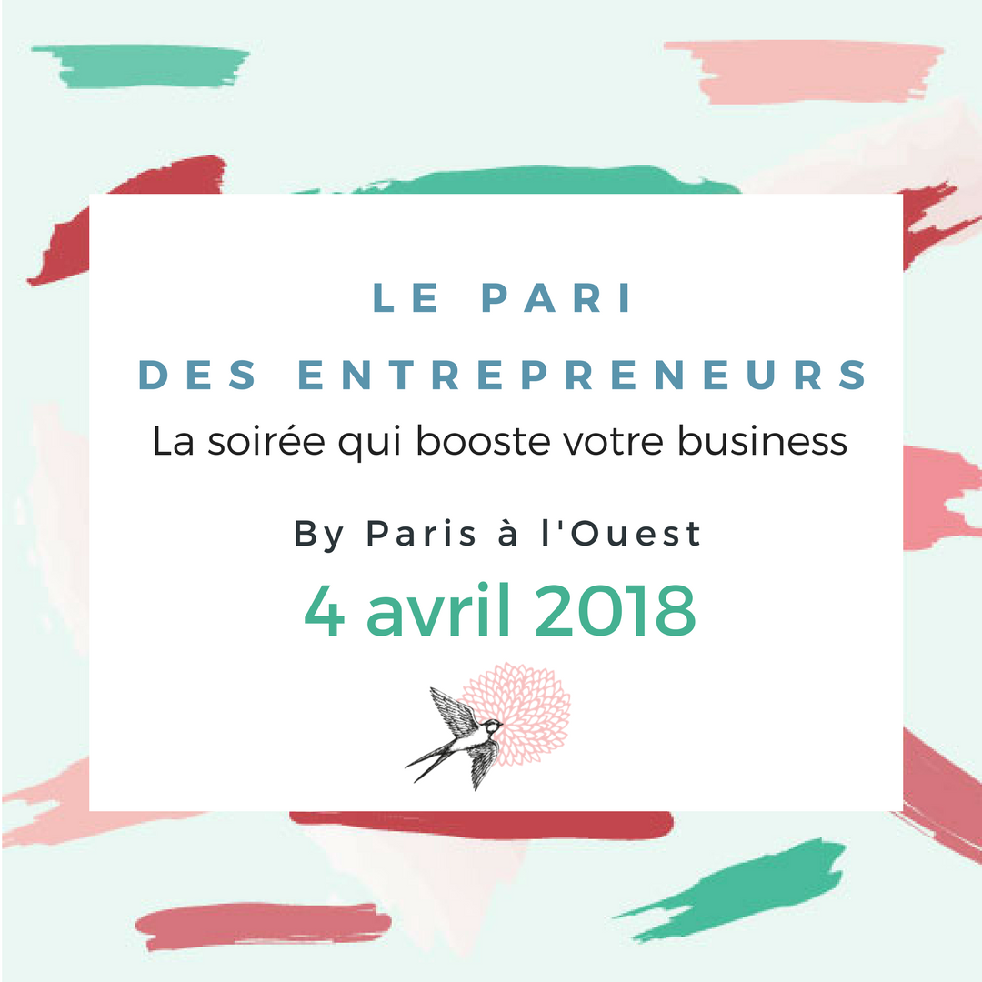 Pari des entrepreneurs