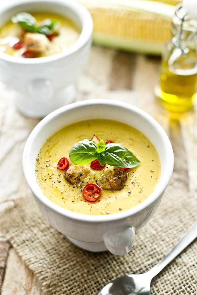 zupa- krem z kukurydzy