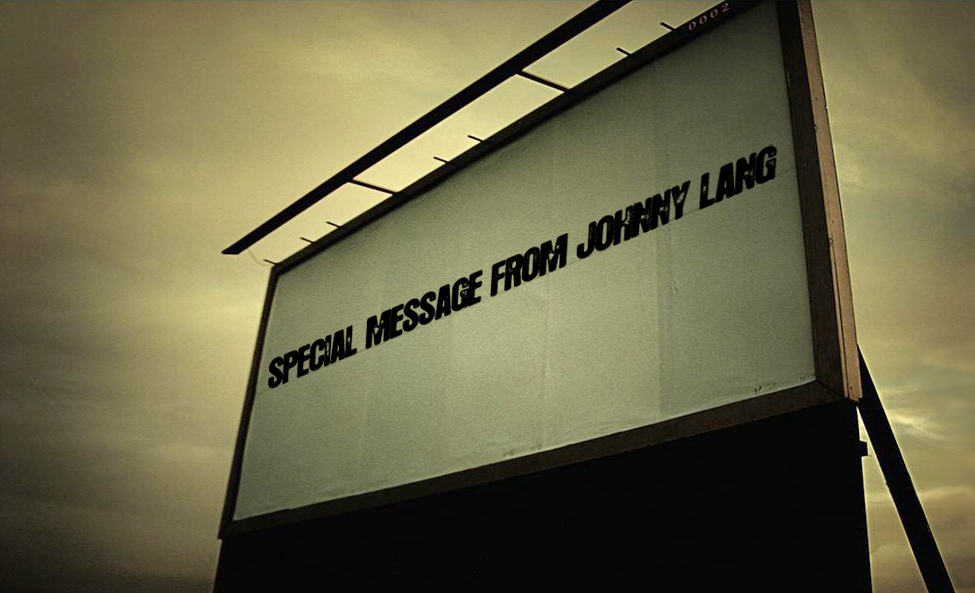 Special Message from Johnny Lang