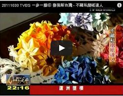 2011/10/30 TVBS (一步一腳印發現新台灣) 訪問 Eagle