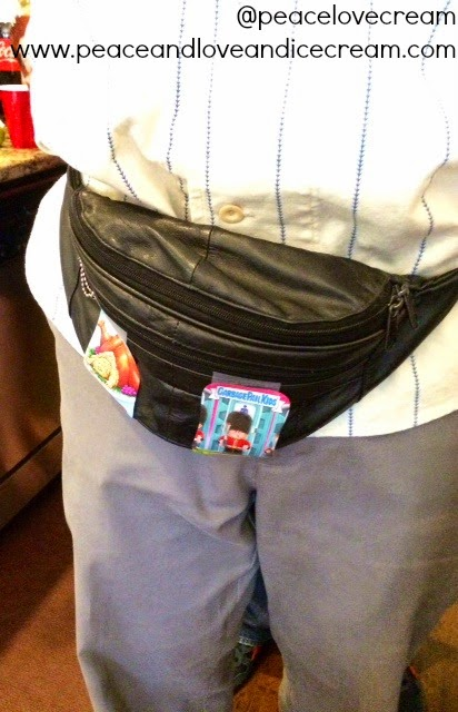 garbage pail kids, fanny pack, 80s themed party