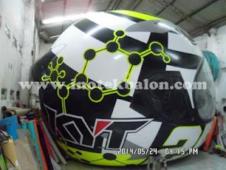 Balon karakter helm KYT