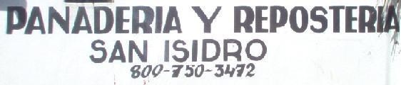 Panadería y Repostería San Isidro