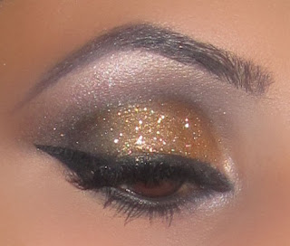 mac, makeup, eyeshadow, blog, satin taupe, dazzling, look, beauty, swiss chocolate, carbon, neutral, natural, smokey, glitter, bronze, reflects, reflect glitter