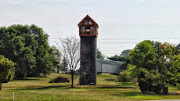 Kentucky grandfather builds 'ultimate playhouse' on top of 50-foot silo