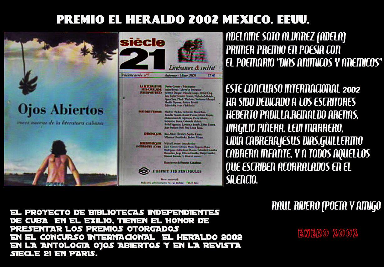 PROMOCION PREMIO EL HERALDO 2002