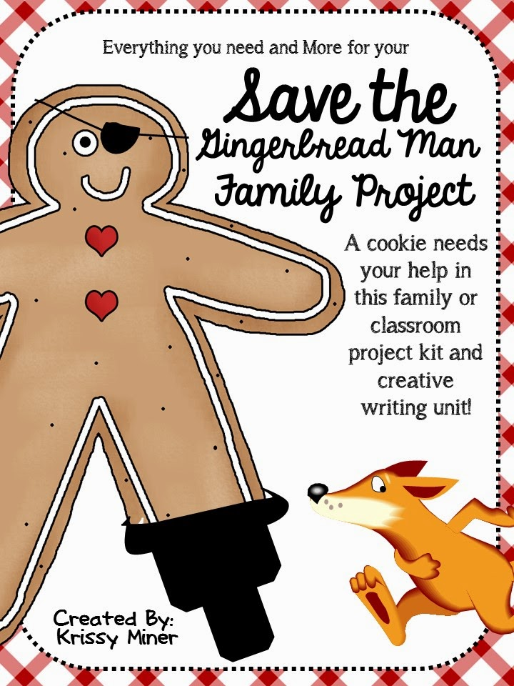 http://www.teacherspayteachers.com/Product/Save-the-Gingerbread-Man-Project-and-Creative-Writing-Project-169101