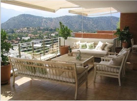 Decorando dormitorios muebles de fierro para terraza - Sillones para terraza ...