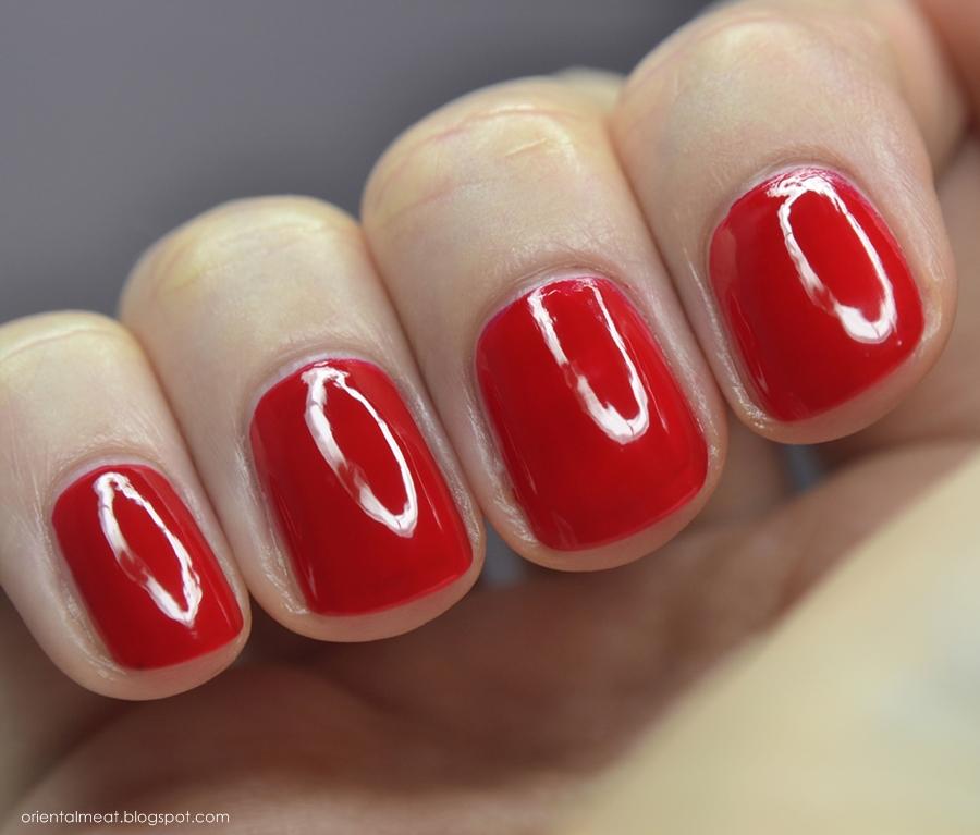 OPI-Big apple red