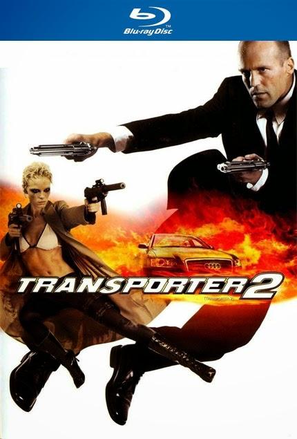 Taşıyıcı 2 - Transporter 2 - bluray poster