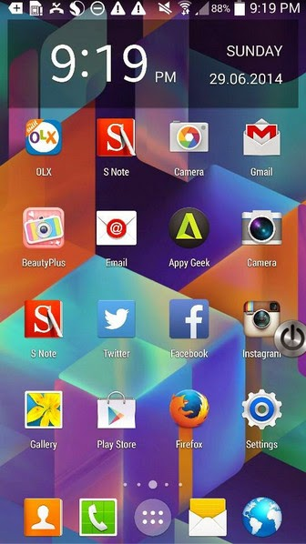 Download Android 5.0 L Wallpapers on Samsung Galaxy