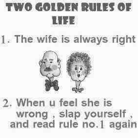 comic, joke, golden rules of life