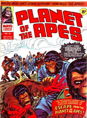 Marvel UK, Planet of the Apes #53