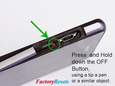Reset Sony Xperia Z Ultra (C6802,C6806,C6833)