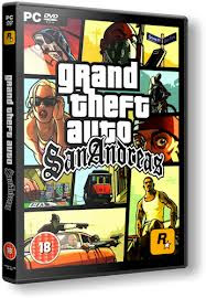Download GTA San Andreas PC (CD Cover)
