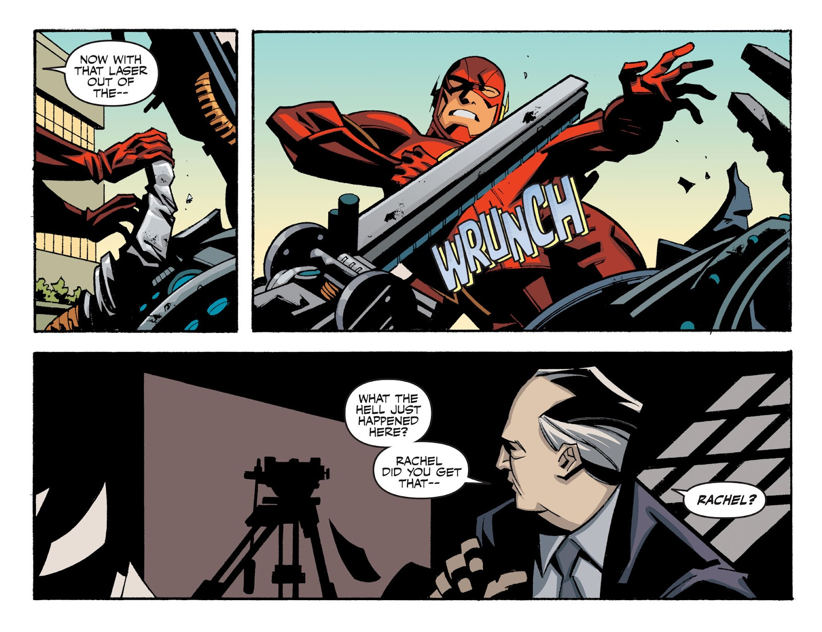 The Flash: Season Zero [I] Issue #19 #19 - English 16