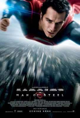 Superman Man of Steel Theatrical One Sheet Teaser Movie Poster