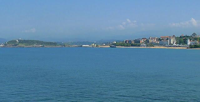 Peninsula Magdalena y El Sardinero desde Mataleñas