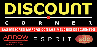 DISCOUNT CORNER ARROW ESPRIT EN MALL APUMANQUE
