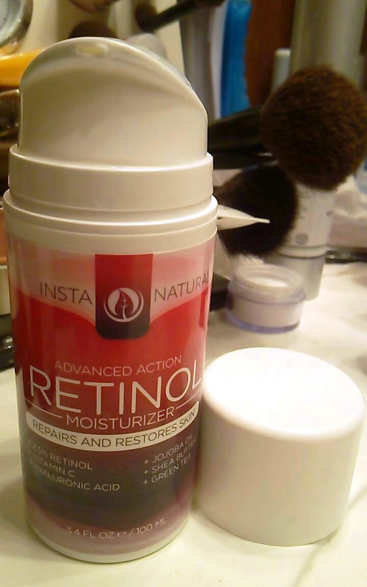InstaNatural Advanced Action Retinol Moisturizer Review