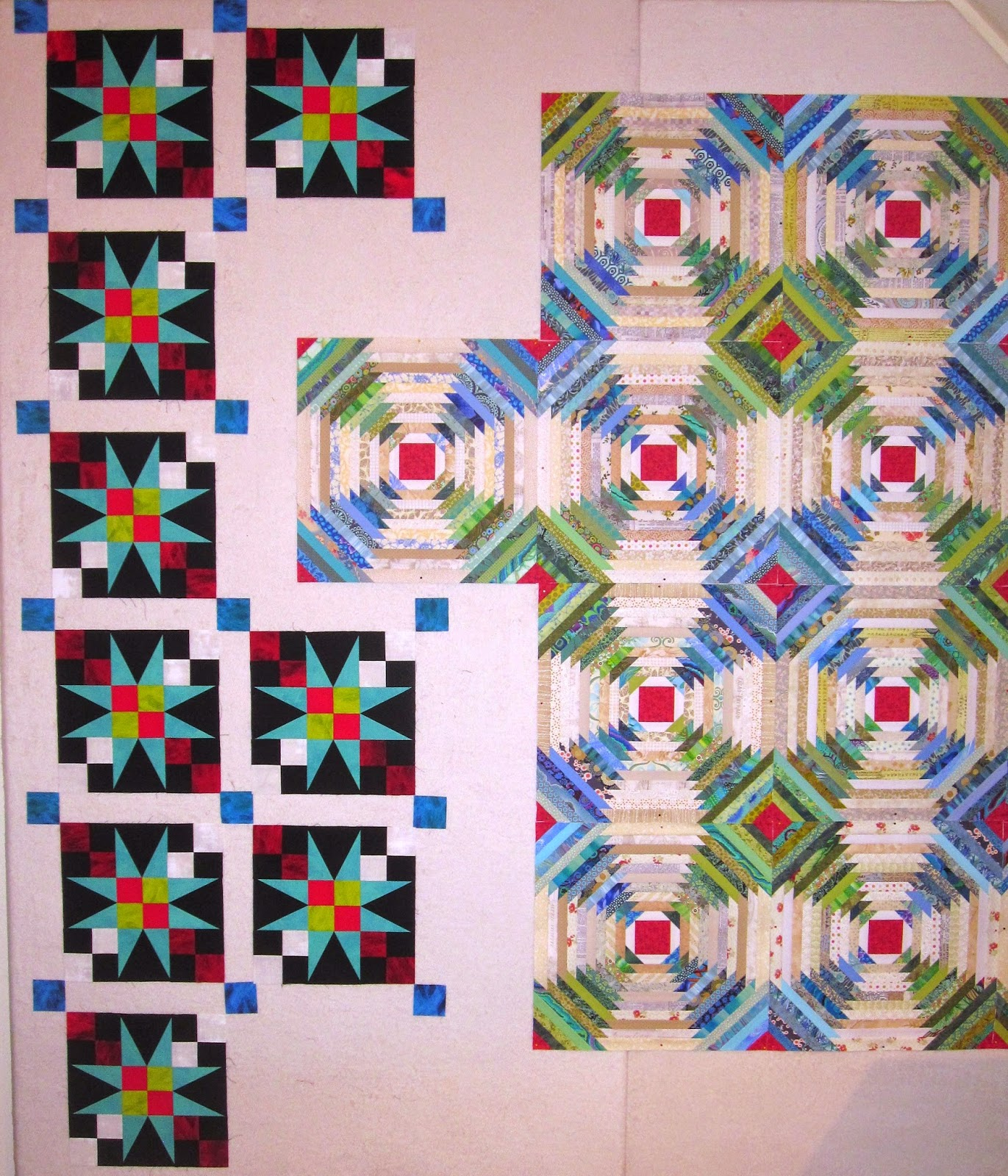 Cheeky Cognoscenti: Amish Baby 54-40 Or Fight Blocks Finished! : 54 40 or fight quilt - Adamdwight.com