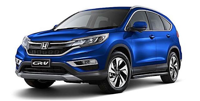 2016 Honda released limited edition  for Jazz, Civic, CR-V, HR-V models