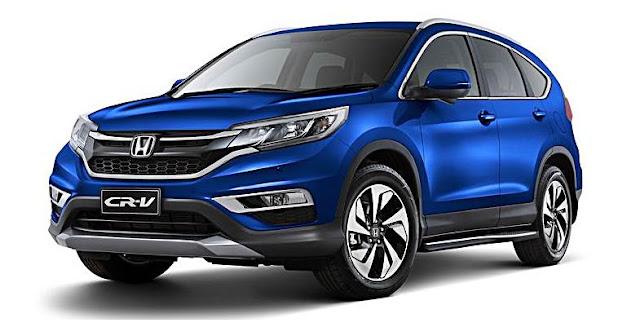 2016 Honda released limited edition  for Jazz, Civic, CR-V, HR-V models