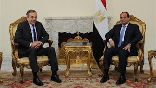 الرئيس السيسي يتلقى اتصالا هاتفيا من الرئيس القبرصي