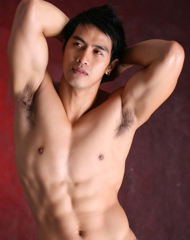 Hot Filopino Male Model Jeff Surio