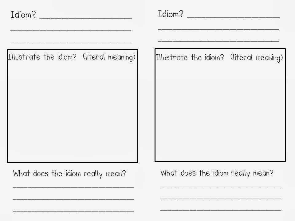 http://www.teacherspayteachers.com/Product/Idiom-Response-Activity-269507