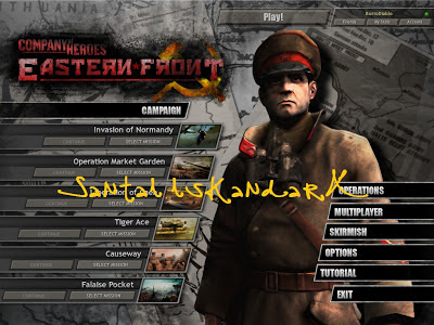 santai, iskandarX, iskandarX Lepak, company of heroes eastern front mod for company of heroes opposing fronts