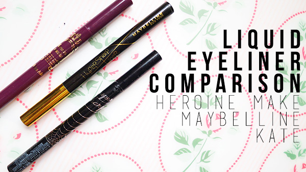 maybelline hypersharp liner heroine make kiss me smooth liquid liner kate super sharp liner